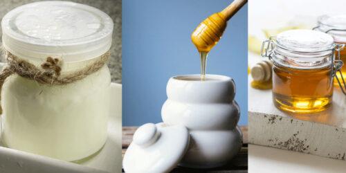 Maschera idratante allo yogurt